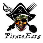 "Contest Entry #7 for Design a Logo for ""Pirate"" themed food blog. Argggh!"
