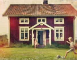#25 for Design a picture with a typical Swedish house and surroundings by imostinnovative