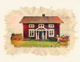 #27 for Design a picture with a typical Swedish house and surroundings by imostinnovative