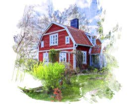 #11 for Design a picture with a typical Swedish house and surroundings by STARK2016