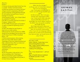 Nro 1 kilpailuun Design a Brochure -- 2 käyttäjältä usamahaseeb101