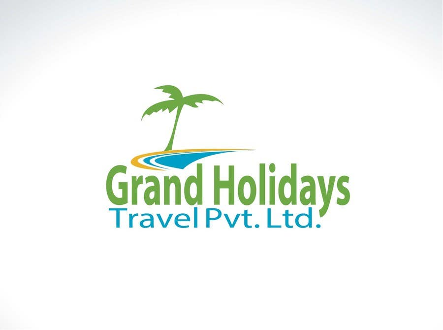 #9 for Design a Logo for travel company 'Grand Holidays Travel Pvt. Ltd.' by tfdlemon