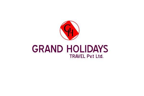 #28 for Design a Logo for travel company 'Grand Holidays Travel Pvt. Ltd.' by dmitrigor1