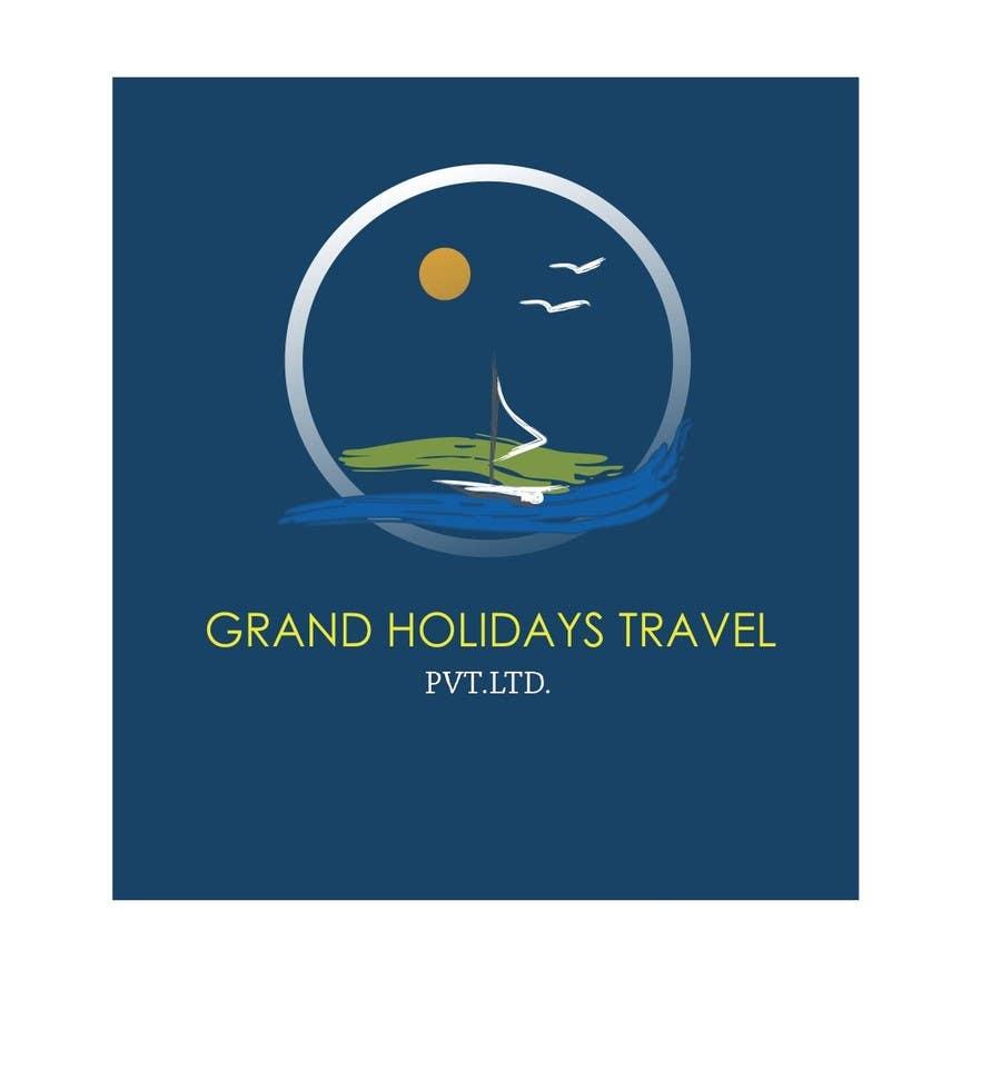 Konkurrenceindlæg #12 for Design a Logo for travel company 'Grand Holidays Travel Pvt. Ltd.'