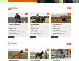 Nro 48 kilpailuun Design a horse searching website käyttäjältä lee800154