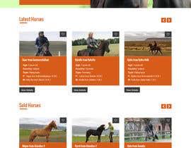 Nro 49 kilpailuun Design a horse searching website käyttäjältä lee800154