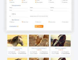 Nro 56 kilpailuun Design a horse searching website käyttäjältä phamtech211