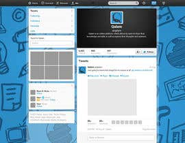 #4 untuk Design a Twitter background for oleh annahavana