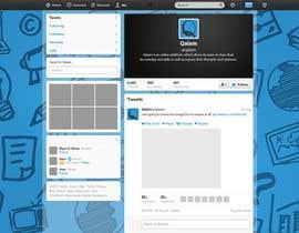 Nro 4 kilpailuun Design a Twitter background for käyttäjältä annahavana