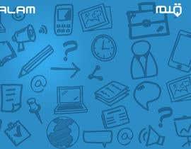 Nro 10 kilpailuun Design a Twitter background for käyttäjältä annahavana