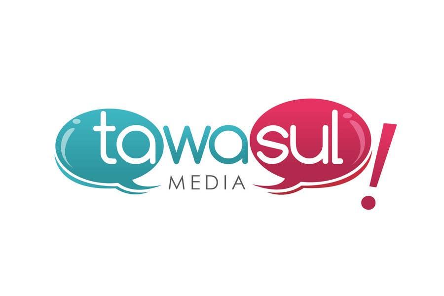 Kilpailutyö #240 kilpailussa Logo Design for Tawasul Media