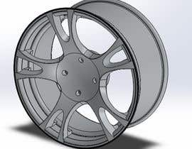 #114 for 5 SPOKE CAR RIM OR WHEEL DESIGN by handras88