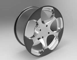 nº 120 pour 5 SPOKE CAR RIM OR WHEEL DESIGN par handras88