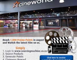 Nro 6 kilpailuun Design a Flyer- Watch the latest film on us email flyer design käyttäjältä Biayi81