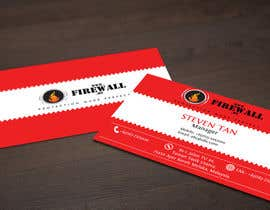 pointlesspixels tarafından Design some Business Cards for firewall için no 23