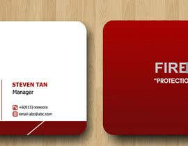 nº 31 pour Design some Business Cards for firewall par RERTHUSI