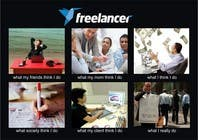 Graphic Design Contest Entry #131 for Graphic Design for What a Freelancer does!