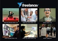 Graphic Design Contest Entry #136 for Graphic Design for What a Freelancer does!