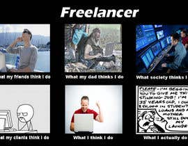 #6 для Graphic Design for What a Freelancer does! от anuj47