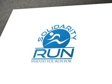 nº 62 pour Design a Logo for Solidarity Run par usmanarshadali