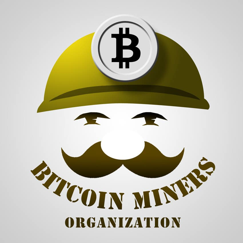 #30 for Logo and banner for Bitcoin Miners Organization by viktorbublic
