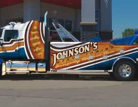 Nro 38 kilpailuun Tow Truck Wrap Design käyttäjältä hereticlohani