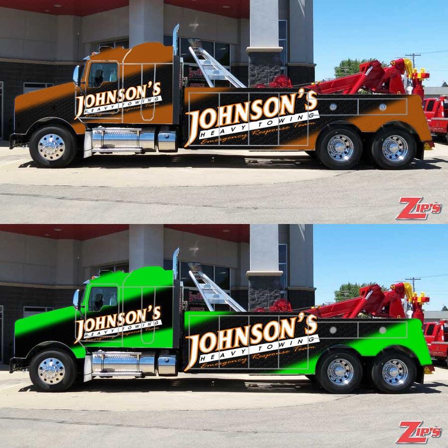 Kilpailutyö #9 kilpailussa Tow Truck Wrap Design