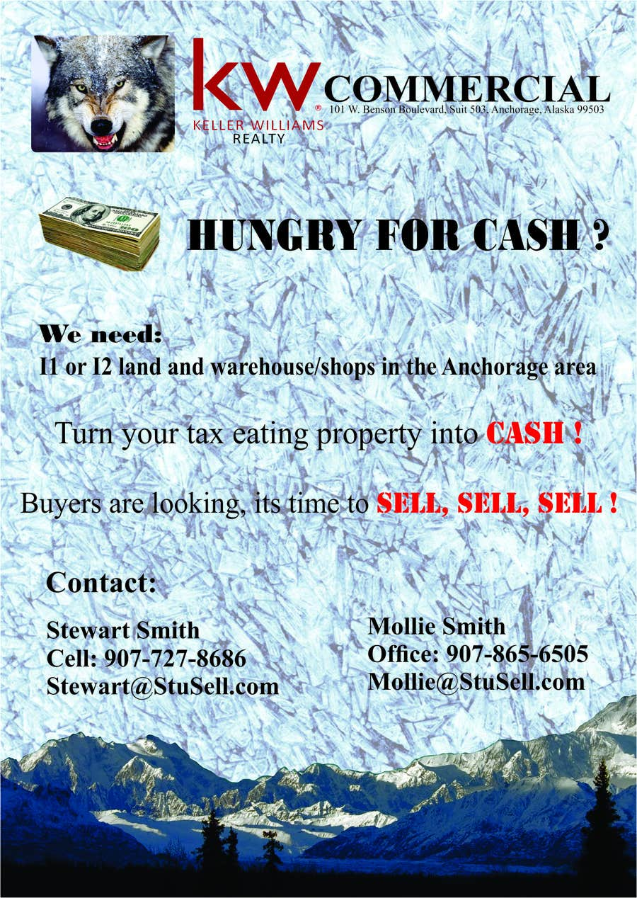 #2 for Wanted flyer for commercial property by ervin21