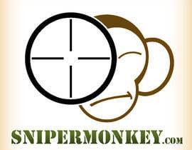nº 59 pour Design a Logo for SniperMonkey.com  . NEED URGENTLY par viktorbublic