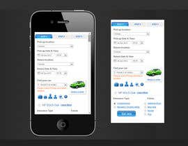 "#2 untuk Design a Website Mockup for Car Rental ""MOBILE ONLY"" oleh theinspiredart"