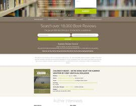 #37 untuk Design a Website Mockup for BookReview.com oleh snali
