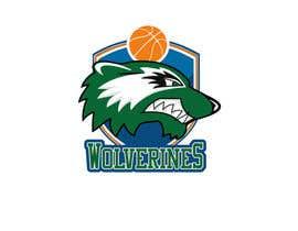 Nro 59 kilpailuun Design a logo for the Wolverines childrens basketball team käyttäjältä prasetyo76
