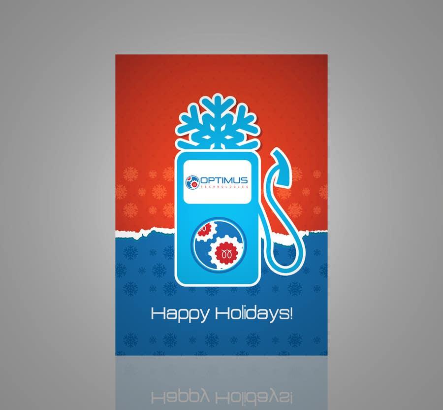 Inscrição nº 3 do Concurso para Design A Template for Company Holiday Card