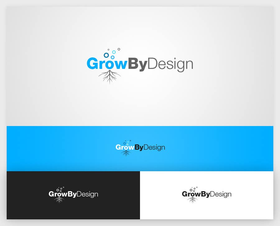#48 for Design a Logo for Grow By Design by lemuriadesign
