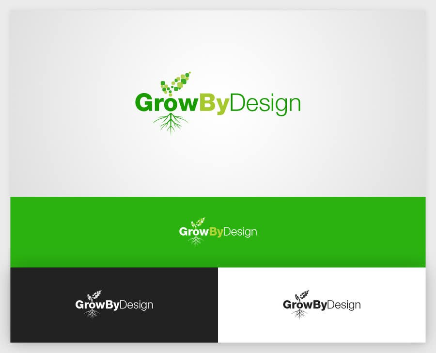 #71 for Design a Logo for Grow By Design by lemuriadesign