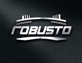 #38 untuk ROBUSTO logo design and metalic paint label design oleh TOPSIDE