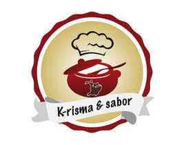 "#61 for Design a Logo for ""K-risma & Sabor"" by GraficsaPeru"