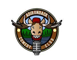 nº 62 pour Logo Design for Adirondack Comedy Club par avngingandbright