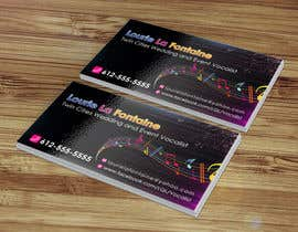 #35 para Design some Business Cards for Event Vocalist por sabbir92