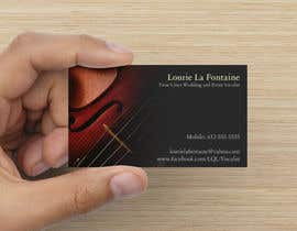 #37 para Design some Business Cards for Event Vocalist por Sunshine798