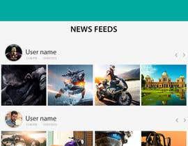 Nro 4 kilpailuun I need an Android UI App Design käyttäjältä sajjidesigner