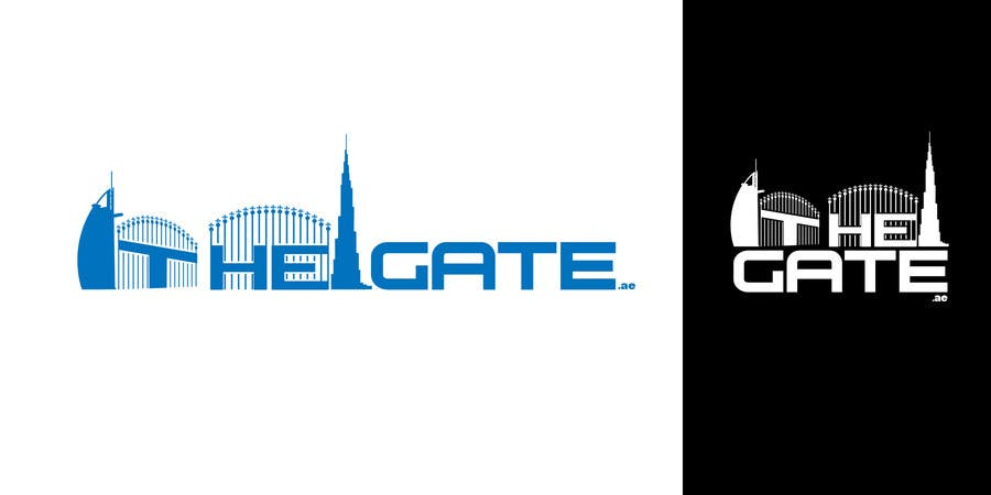 #178 for Design a Logo for Thegate.ae by kingryanrobles22