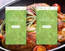 Nro 5 kilpailuun Design a Mobile Restaurant Homepage Mockup käyttäjältä Nvectored