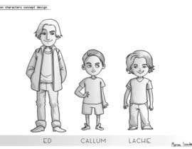 Nro 19 kilpailuun Cartoon Characters Concept Art käyttäjältä marinasanc