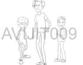 Nro 33 kilpailuun Cartoon Characters Concept Art käyttäjältä avijitsil009