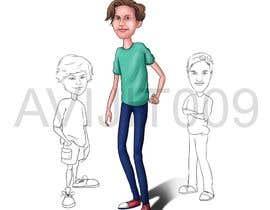 Nro 34 kilpailuun Cartoon Characters Concept Art käyttäjältä avijitsil009
