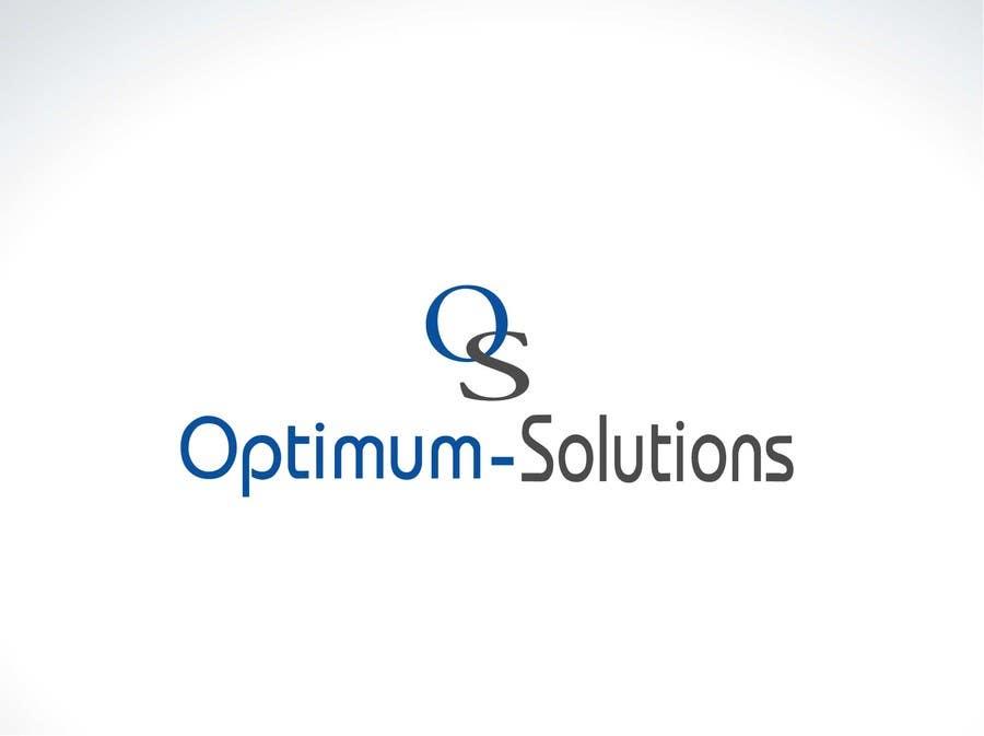 #6 for Design a Logo for OPTIMUM-SOLUTIONS by tfdlemon