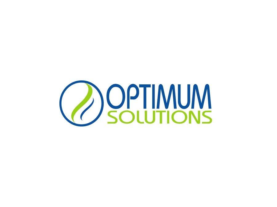 #41 for Design a Logo for OPTIMUM-SOLUTIONS by tfdlemon