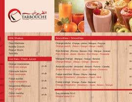 Nro 15 kilpailuun Design a Menu for a juice bar and fast food käyttäjältä LVVB