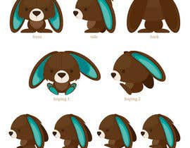 #36 cho Character Design: Combination of a Bunny and a Bear bởi applemoment